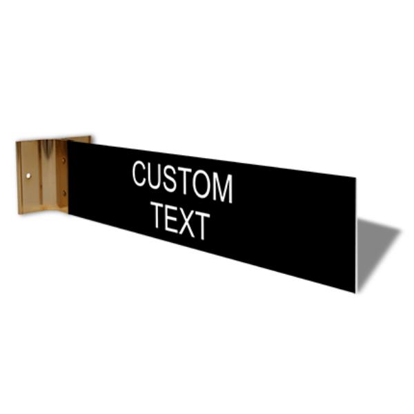"Custom Room Projection Sign   2"" x 10"""