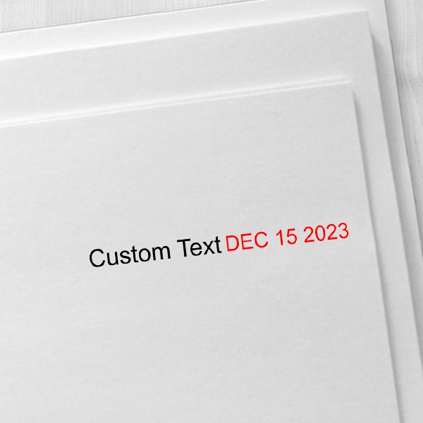 Trodat Dater 3150 with Custom Text Imprint