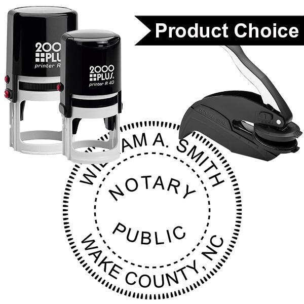 North Carolina Notary Round