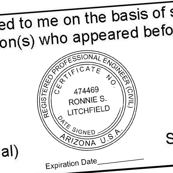 State of Arizona Engineer with Expiration