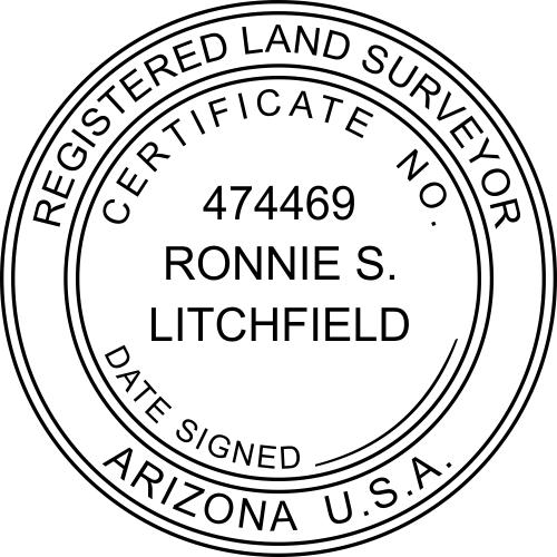 State of Arizona Land Surveyor