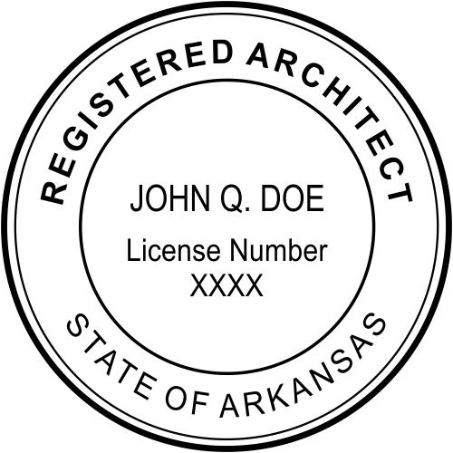 State of Arkansas Architect