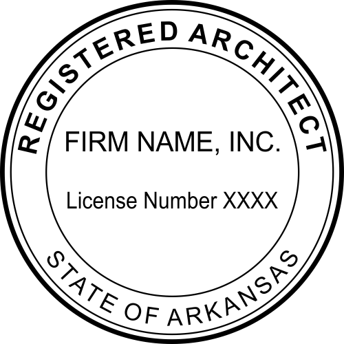 State of Arkansas Architectural Firm