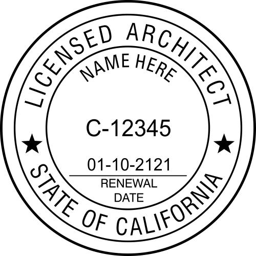 State of California Architect