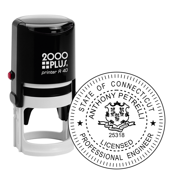 State of Connecticut Engineer Seal