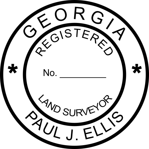 State of Georgia Land Surveyor