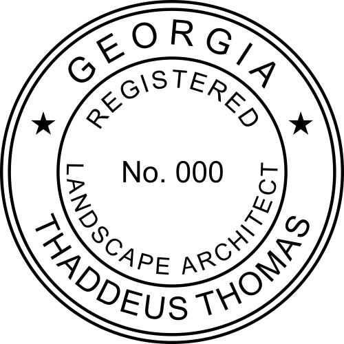 State of Georgia Landscape Architect