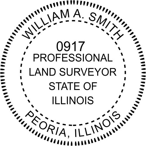 State of Illinois Land Surveyor