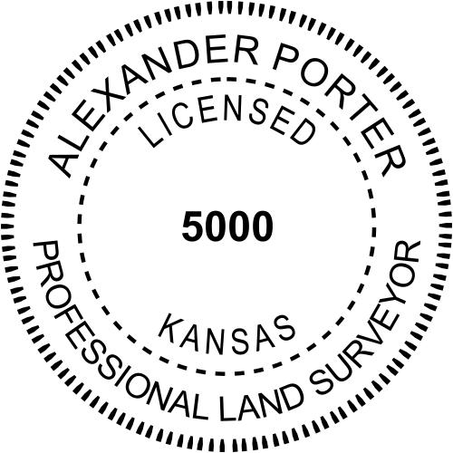 State of Kansas Land Surveyor