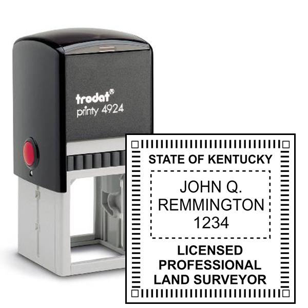 State of Kentucky Land Surveyor Stamp