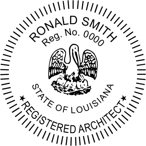 State of Louisiana Architect