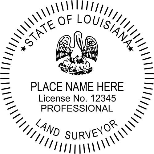 State of Louisiana Land Surveyor