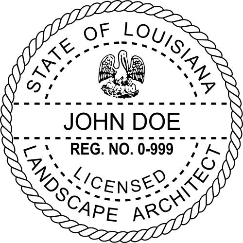 State of Louisiana Landscape Architect