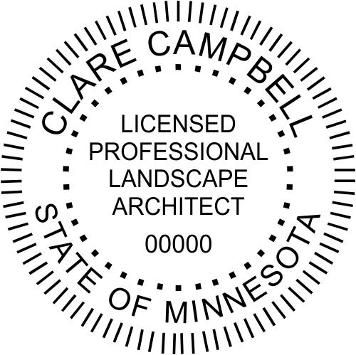 State of Minnesota Landscape Architect