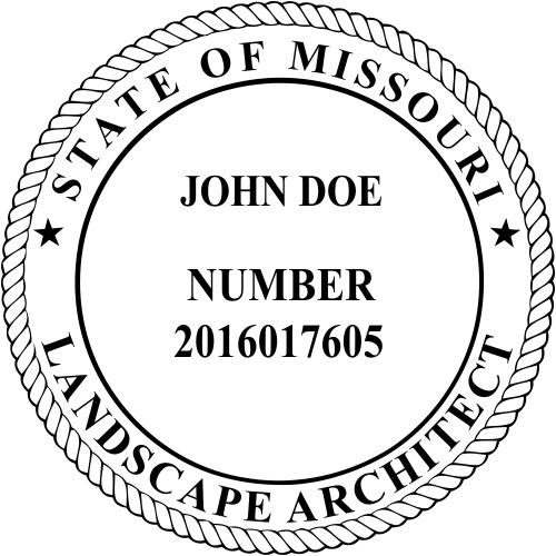 State of Missouri Landscape Architect