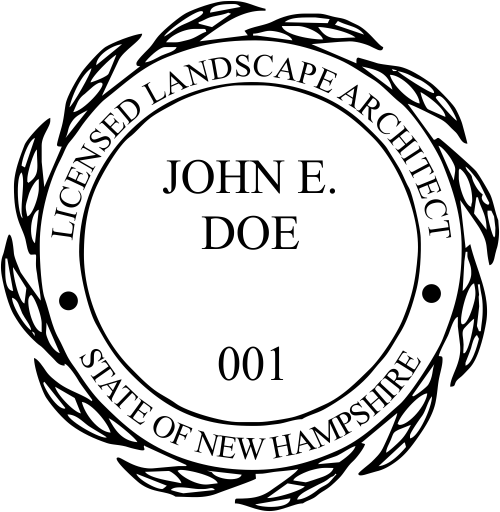 State of New Hampshire Landscape Architect