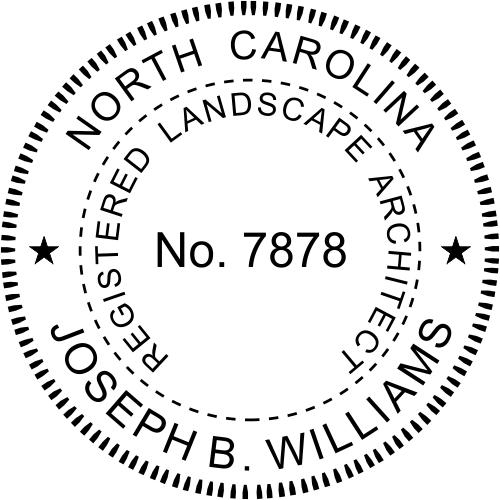 State of North Carolina Landscape Architect