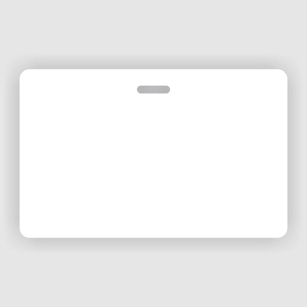 Customizable Horizontal Double Sided ID Badge