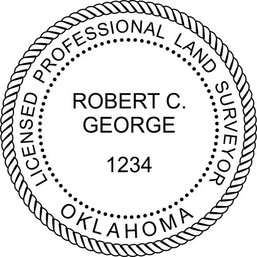 State of Oklahoma Land Surveyor