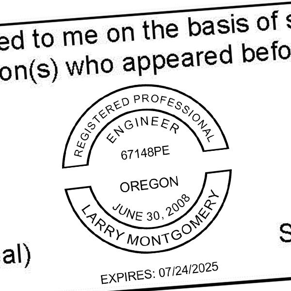 State of Oregon Engineer