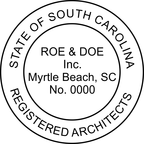 State of South Carolina Architectural Firm