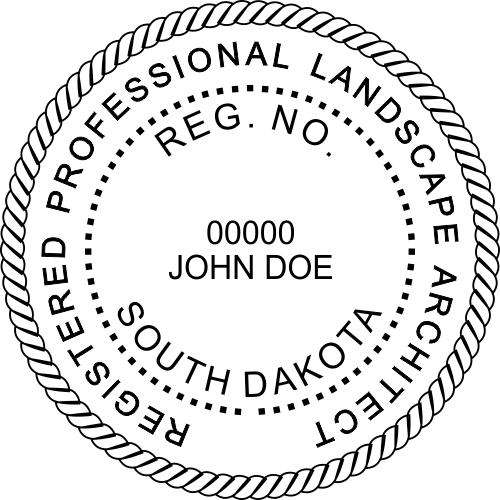 State of South Dakota Landscape Architect