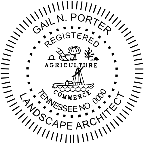 State of Tennessee Landscape Architect