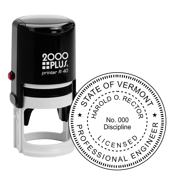 State of Vermont Engineer Seal