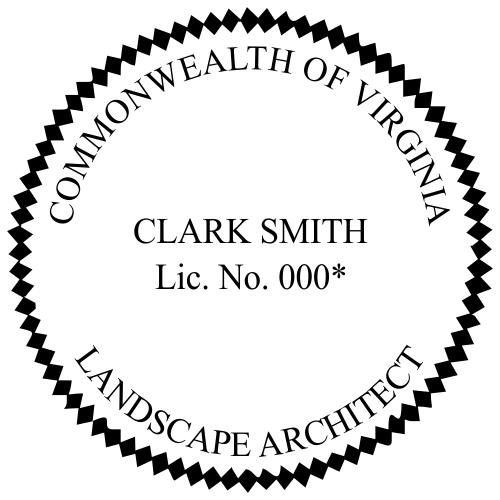 State of Virginia Landscape Architect
