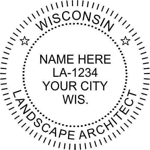 State of Wisconsin Landscape Architect
