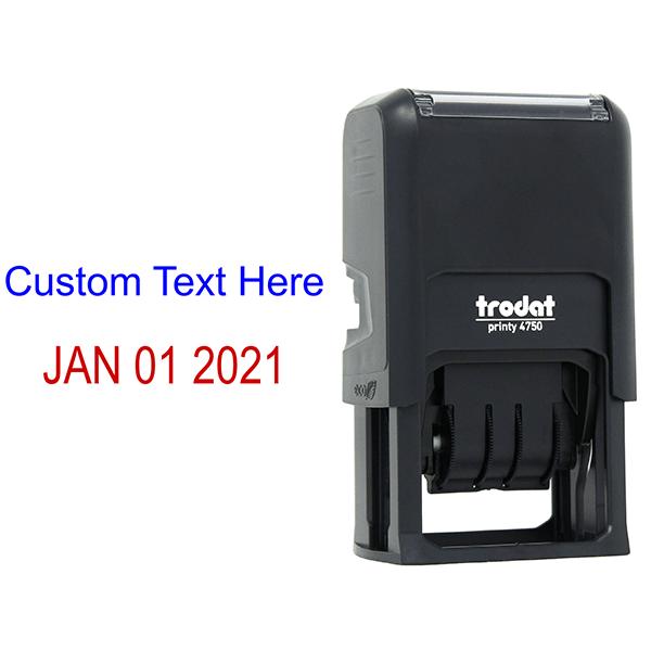 Top Line Custom Date Stamp Body and Design