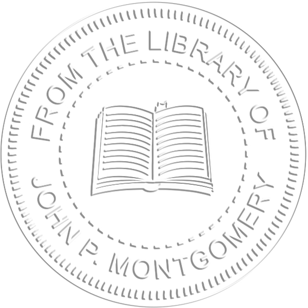 From the Library Book Embosser Seal