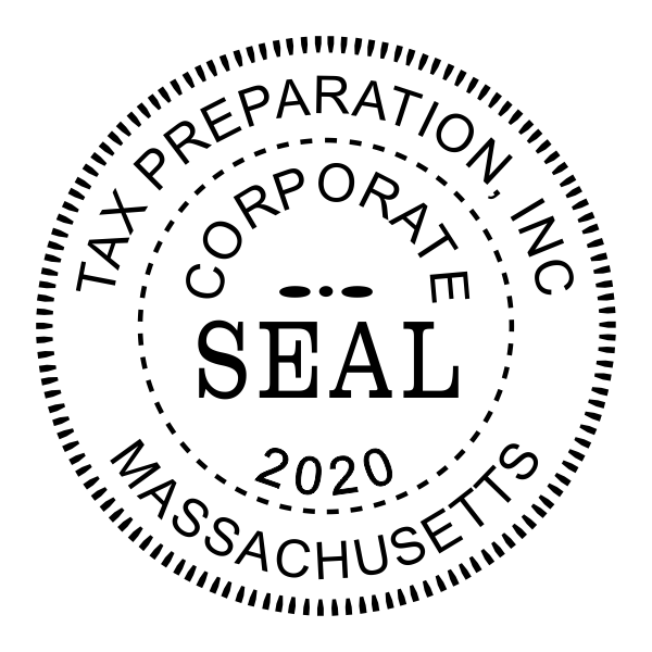 Corporate Year Seal Stamp