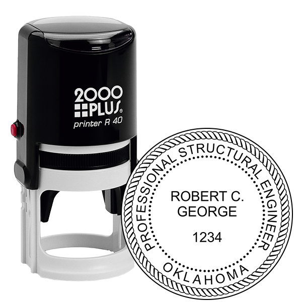 State of Oklahoma Structural Engineer Seal