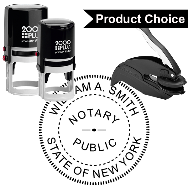 New York Notary Round