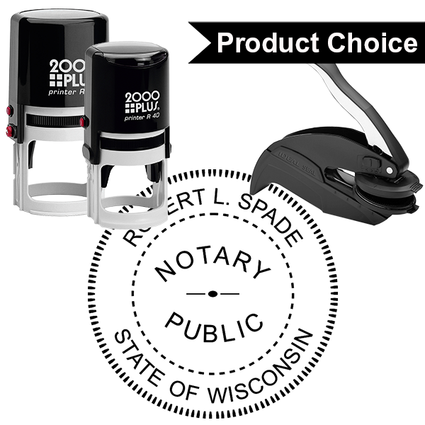 Wisconsin Notary Round