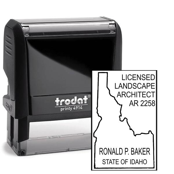 State of Idaho Landscape Architect