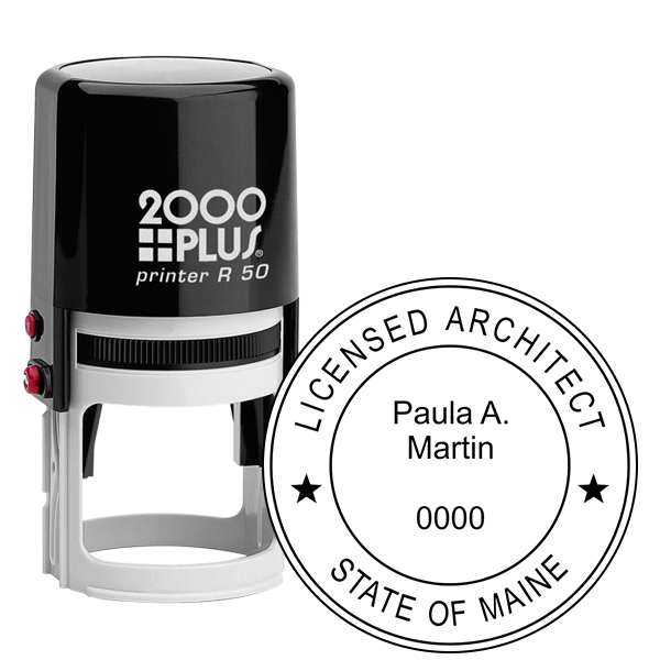 State of Maine Architect Stamp