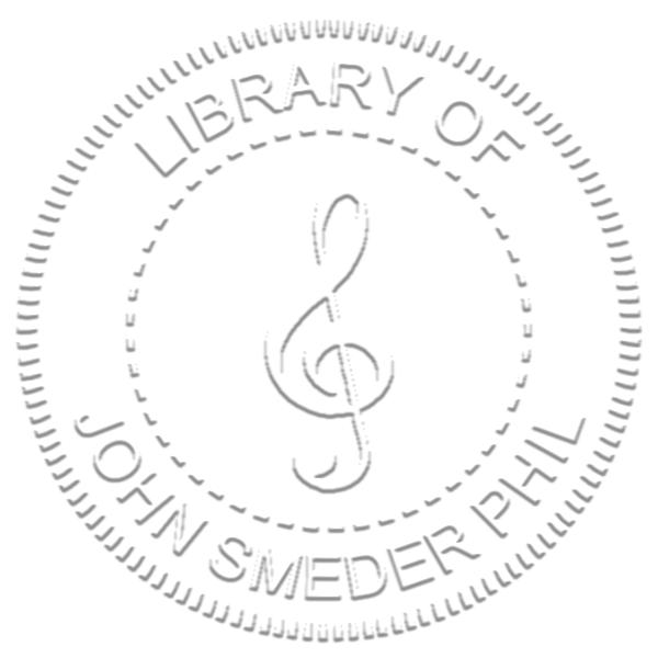 Treble Clef Music Symbol Embosser