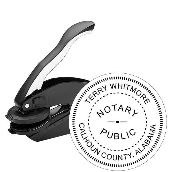 Alabama Notary Seal Embosser