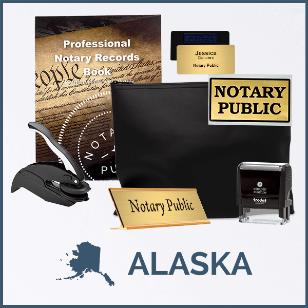 Alaska Deluxe Notary Kit
