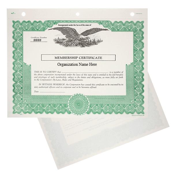 Duke 6 Nonprofit Membership Certificates | Quantity of 20 or More