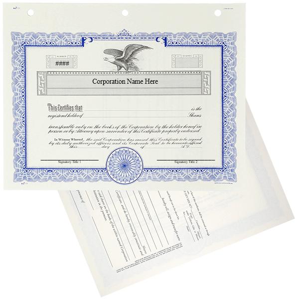 Duke 11 Stock Certificates | Quantity of 20 or More