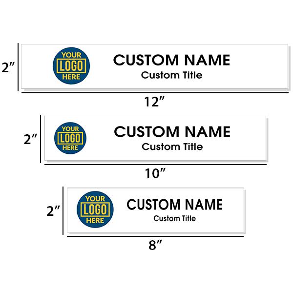 Insert Only for Traditional Alum Nameplate Holders - Full Color