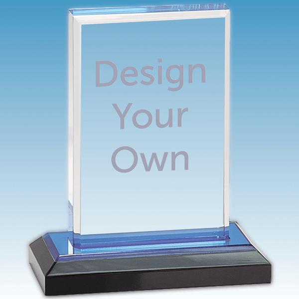 Straight Bevel Acrylic Award - iMP201BU