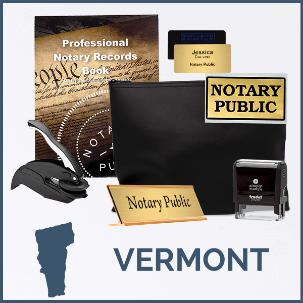Vermont Deluxe Notary Kit