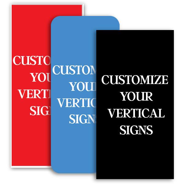 Horizontal Engraved Plastic Signs