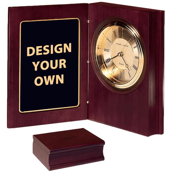 Desk Book Clock