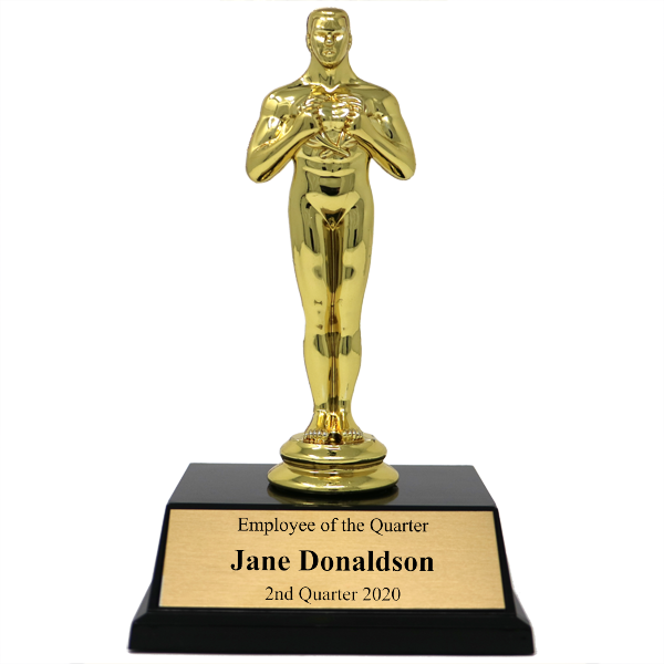 Employee of the Quarter Achievement Award Trophy
