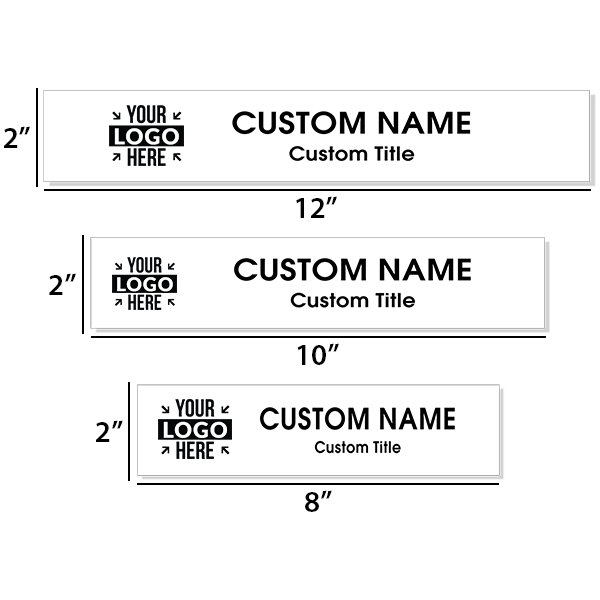 Insert Only for Traditional Aluminum Nameplate Holders   Engraved